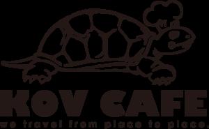 大阪を中心に東京や九州など全国へイベント出店、無農薬玄米カレー、カレースパイス販売などを行うKOV CAFEのロゴ